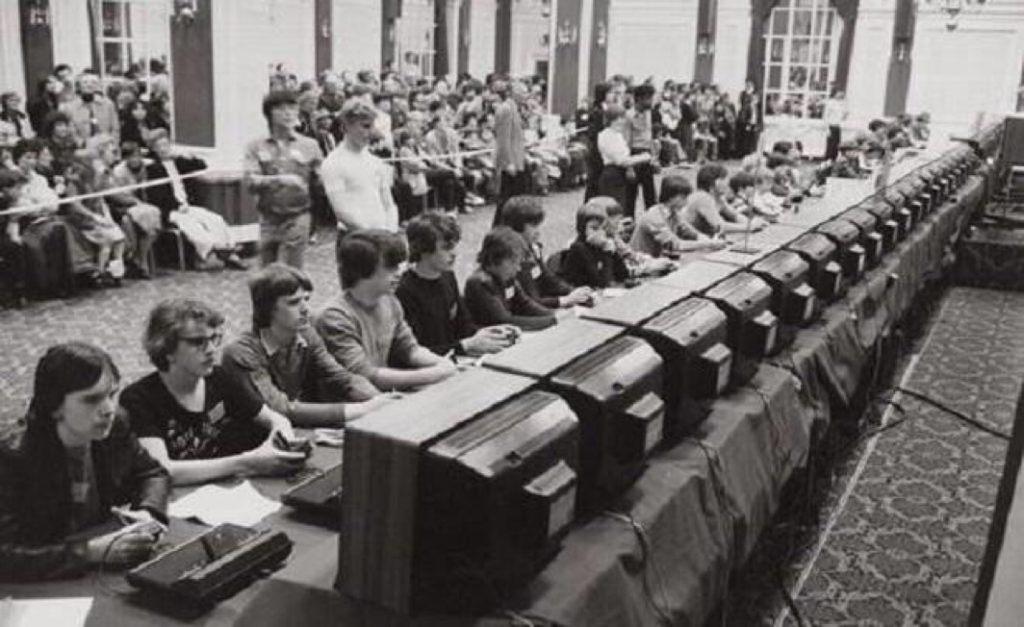 Campeonato Space Invaders 1981