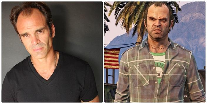 Trevor  comparação