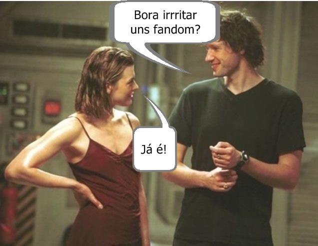 Paul Anderson e Milla Jovovich